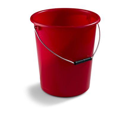 Nordiska Plast 1122-0300 Plasthink röd, 12 l