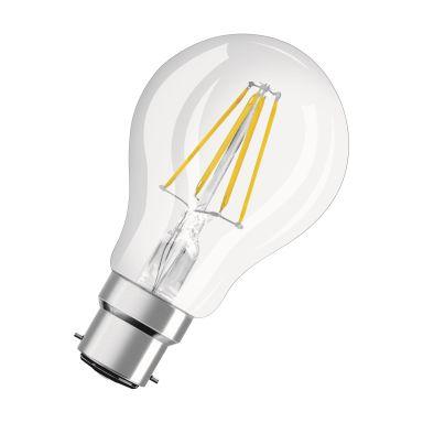 Osram 4083084301 LED-lampa klar, B22, 7W, 806 lm