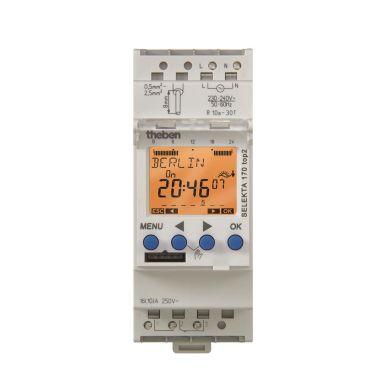 Theben 1704100 Kopplingsur 24 V, växlande kontakt