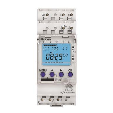 Theben 6110330 Kopplingsur 110-230V, radiostyrd