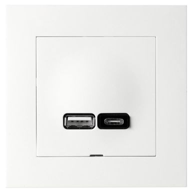 Elko Plus A+C Ladduttag USB A + C, 2.4A