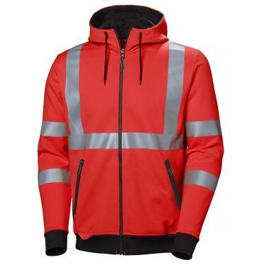 Helly Hansen Workwear Addvis Hettegenser varsel, rød