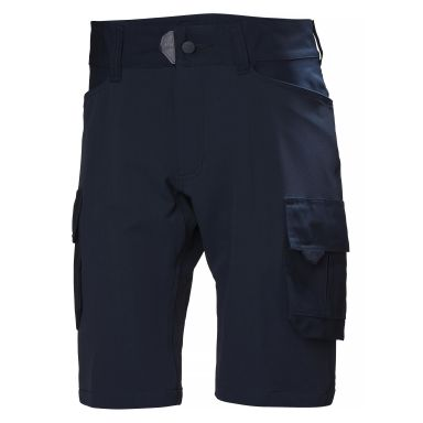 H/H Workwear Chelsea Evolution Arbetsshorts marinblå, YKK dragkedja