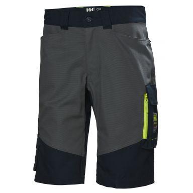 H/H Workwear Aker Arbetsshorts marinblå/grå