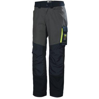 H/H Workwear Aker Arbetsbyxa marinblå/grå