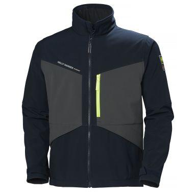 Helly Hansen Workwear Aker Softshelljacka marinblå/grå