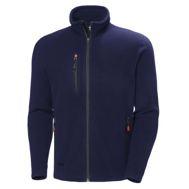 Helly Hansen Workwear Oxford Fleecejacka marinblå