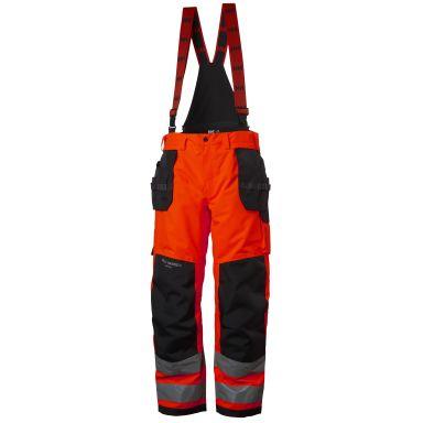 Helly Hansen Workwear Alna Shell Construction Skalbyxa varsel, röd