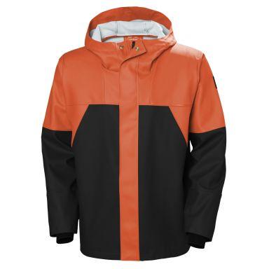 Helly Hansen Workwear Storm Regnjacka orange/svart