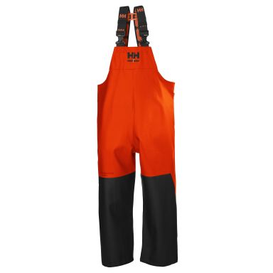 H/H Workwear Storm Regnbyxa svart/orange