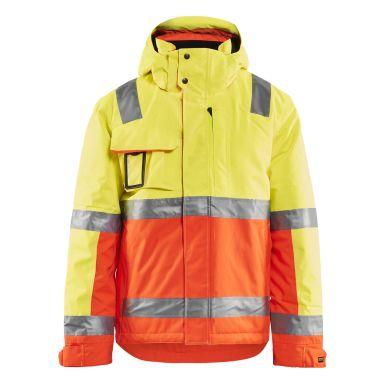 Blåkläder 8719-1977 Limited Edition Vinterjacka varsel, gul/orange