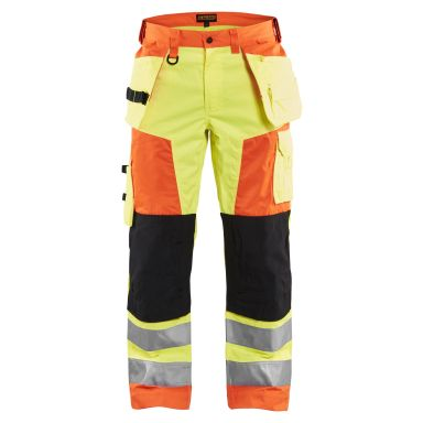 Blåkläder 8827-1804 Limited Edition Midjebyxa varsel, gul/orange