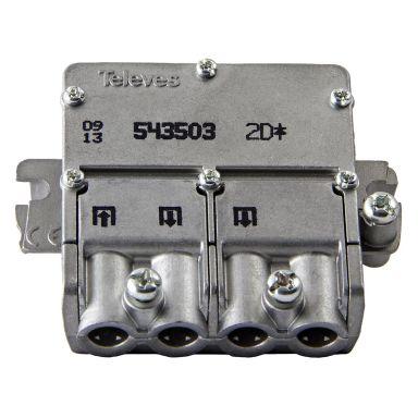 Televes 543503 Fordeler med EasyF-tilkobling