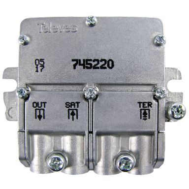 Televes 745220 Combiner easy-F mini format