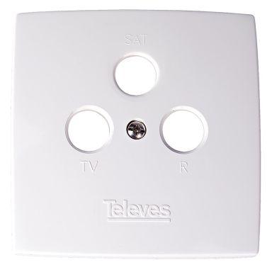 Televes 544302 Täcklock för antennuttag