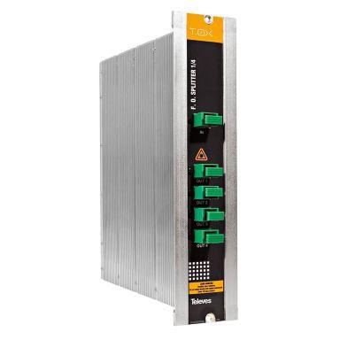 Televes 2339 Optisk splitter med SC/APC-tilkobling