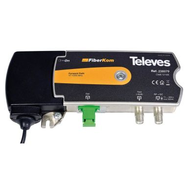 Televes 238079 Mini-mottagare OLC, för 1200-1600 nm
