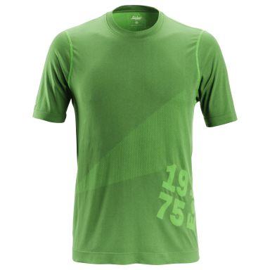 Snickers 2519 FlexiWork T-shirt grön