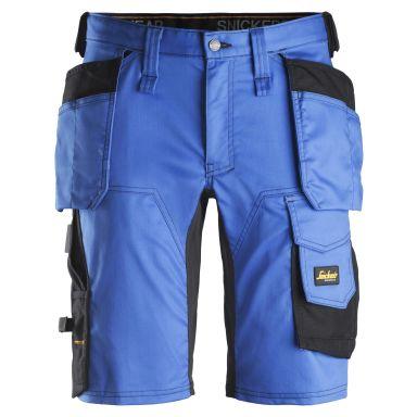 Snickers 6141 AllroundWork Arbetsshorts blå/svart