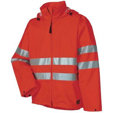 Helly Hansen Workwear Narvik Regnjacka varsel, orange, dold huva