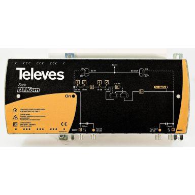 Televes DT-Kom 5338 Forsterker med Push-Pull-teknologi