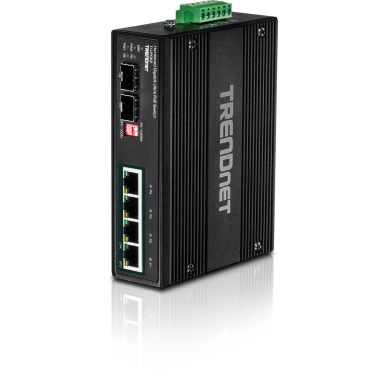 TRENDnet TI-UPG62 Switch 4 portar, UPoE TI-UPG62