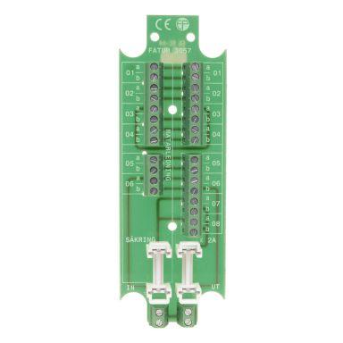 Alarmtech 3057.01 Kopplingsplint 5 polpar, 2 sektioner