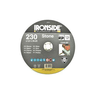 Ironside 201474 Kapskiva sten, 230x3,0x22 mm