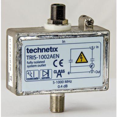 Televes 407730 Avskiller F-kontakter, 5–1000 MHz