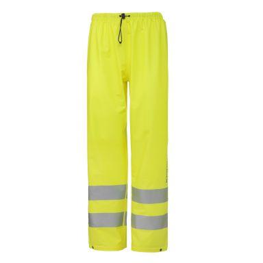 H/H Workwear Narvik Regnbyxa varsel, gul