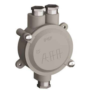 ABB 2CMA136532R1000 Lättmetalldosa med gänga 18,6 av aluminium