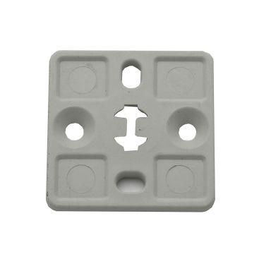 Castor 1323405 Fästplatta grå, 100-pack