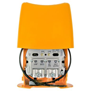 Televes Nanokom LTE700 Mastförstärkare kanal 21-48, UHF+VHF+FM