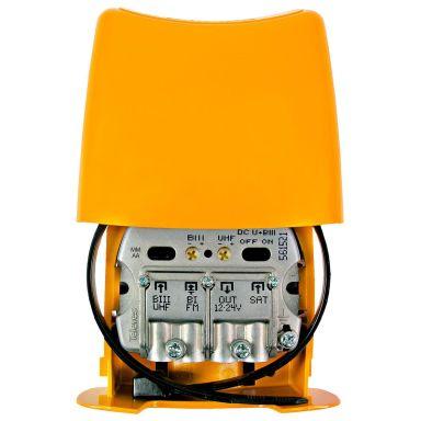 Televes Nanokom LTE700 Mastförstärkare kanal 21-48, Kombi+FM