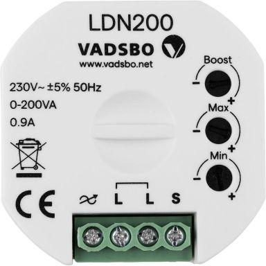 Vadsbo V-40P0200-001 Dimmer trådløs