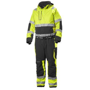 H/H Workwear Alna Overall varsel, gul/svart