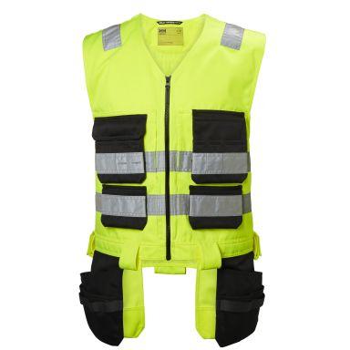 H/H Workwear Alna Väst varsel, gul/svart