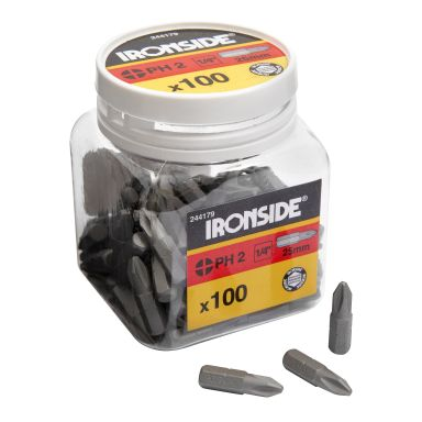 Ironside 201653 Bits torx, 25 mm, 100-pakning