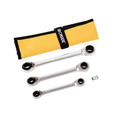 Ironside 117311 Spärringnyckelsats 4 delar, 8-19 mm