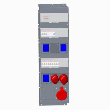 ABB 2CMA101810R1000 Modulkombi för IEC-/CEE-uttag