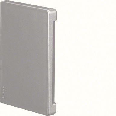 Hager BR651006LAN Ändstycke aluminium, symmetrisk