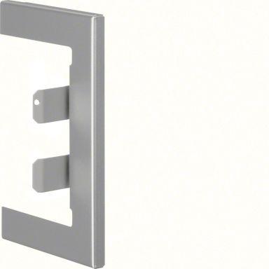 Hager BR65100WLAN Väggram aluminium