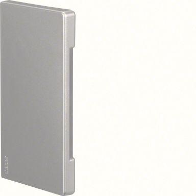 Hager BR651306LAN Päätykappale alumiinia, symmetrinen