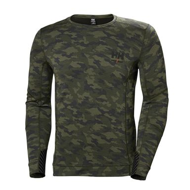 H/H Workwear Lifa Merino Undertröja kamouflage