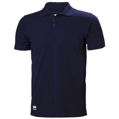 Helly Hansen Workwear Manchester Pikéskjorte marineblå