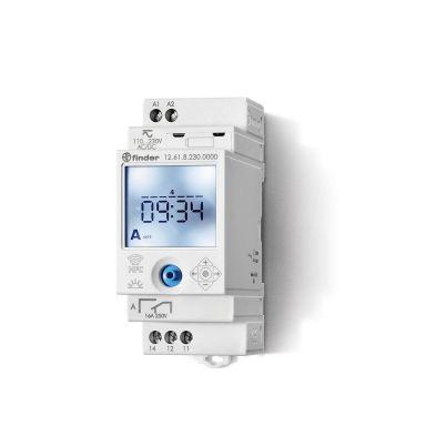 Finder 126182300000 Koblingsur 16A, 110…230VAC/DC