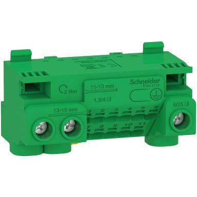 Schneider Electric Resi9 CX LGYT1E14 Jordklemme 440 V