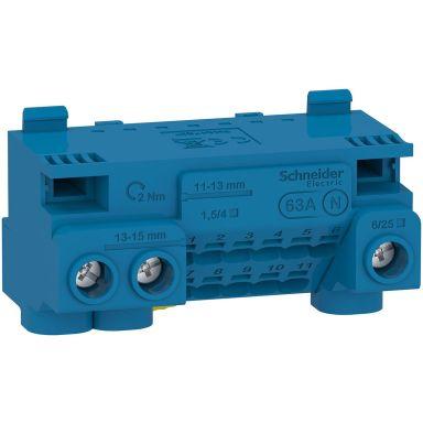 Schneider Electric Resi9 CX LGYT1N14 Nullklemme 440 V