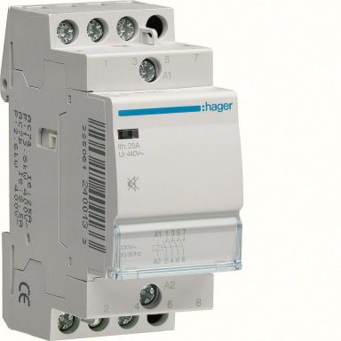 Hager ESC426S Kontaktor 25 A, 230 VAC