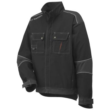 Helly Hansen Workwear Chelsea Jacka svart/grå, fodrad
